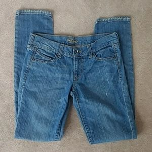 Old Navy Diva Distressed Skinny Jean Size 2 Long